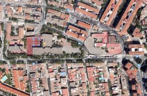 mapa de situación satelite