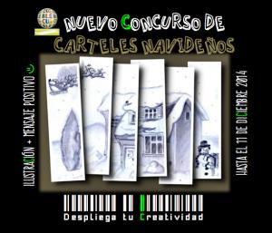 cartel concurso CARTELES navideños_negro