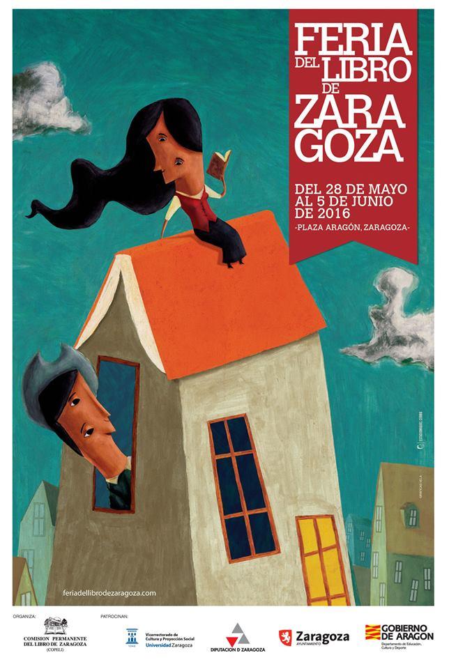 Feria del Libro Zaragoza 2016 Cartel